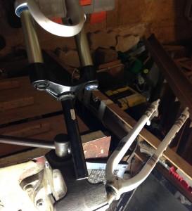велосипед жёсткая вилка