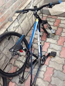 С велосипедами в крым
