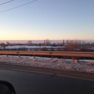 дорога в ленинградскую