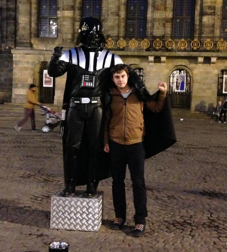 дарт вейдер в амстердаме