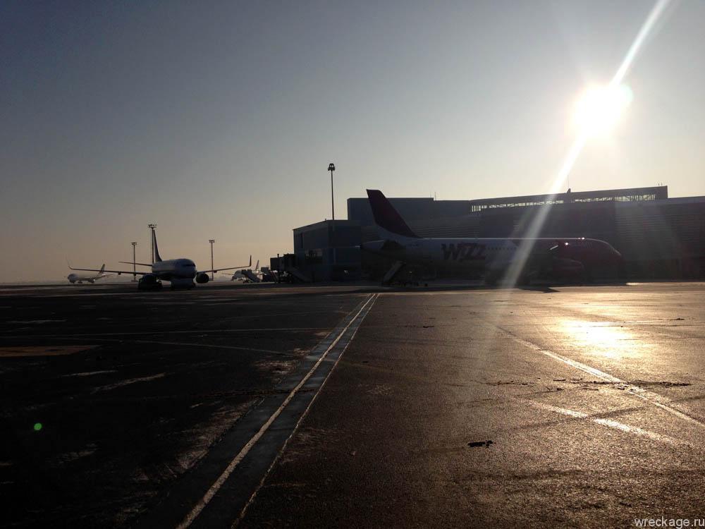 аэропорт вильнюса зимой