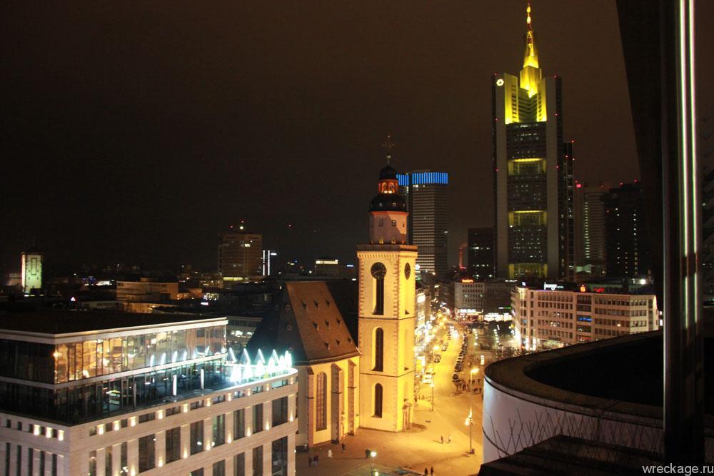 Вид с кафе франкфурта