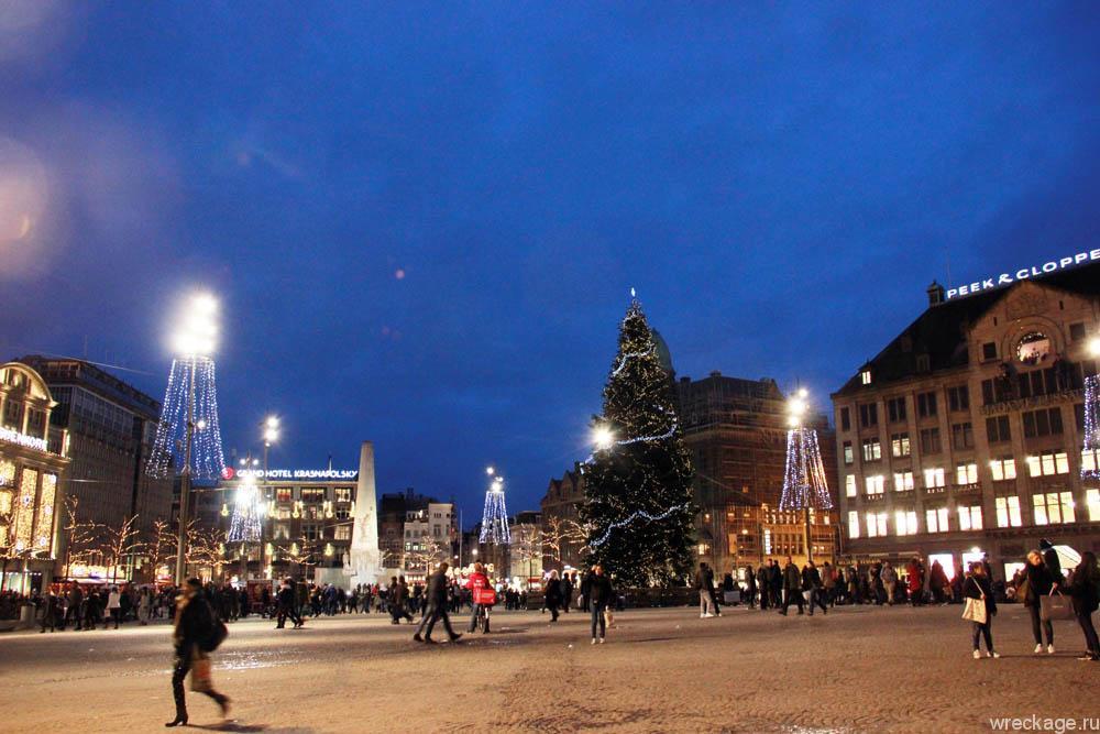 новый год амстердам