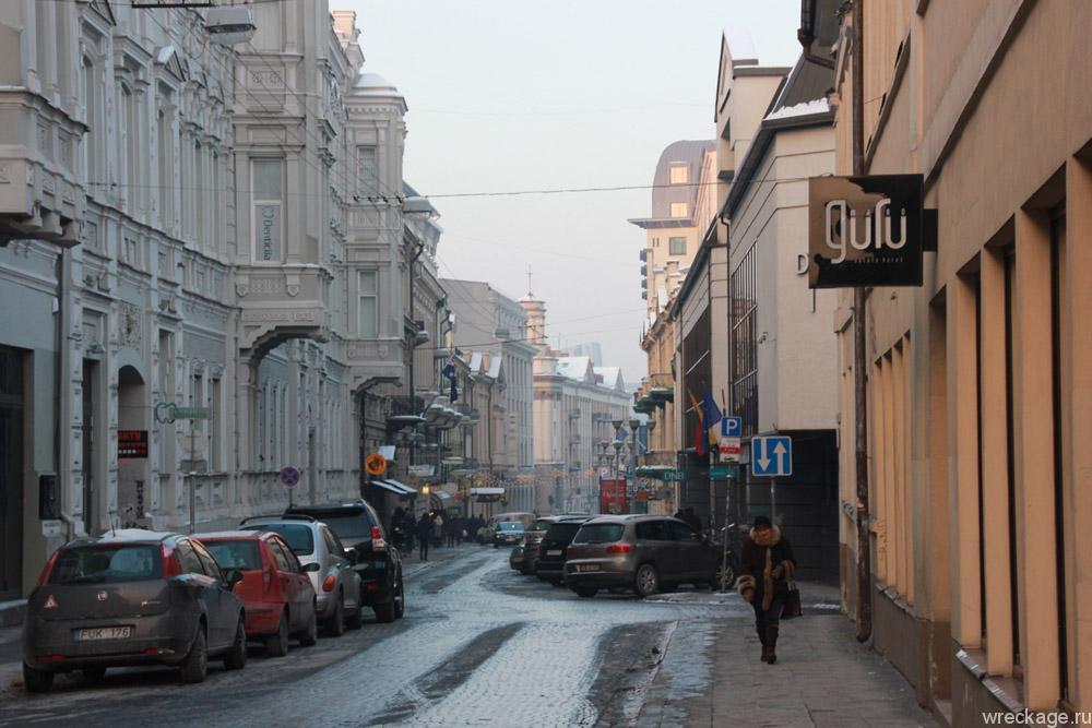 Такой холодный Вильнюс