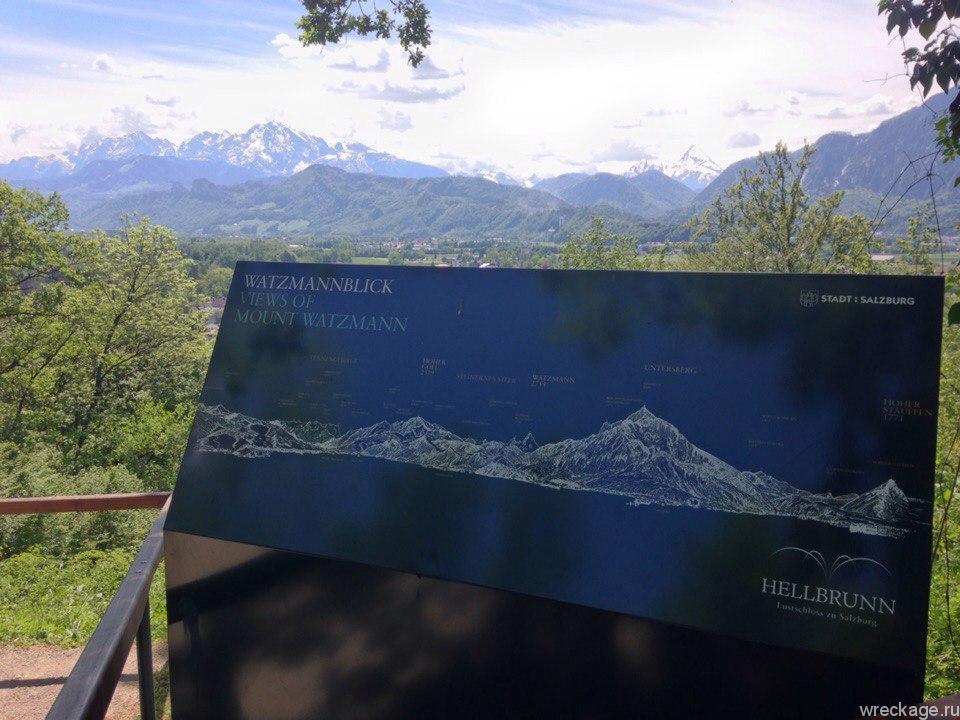 аниф зальцбург альпы