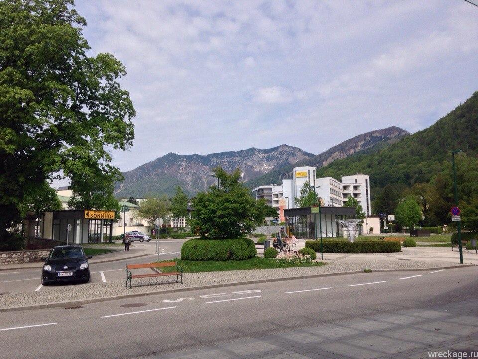 Bad ischl город австрия