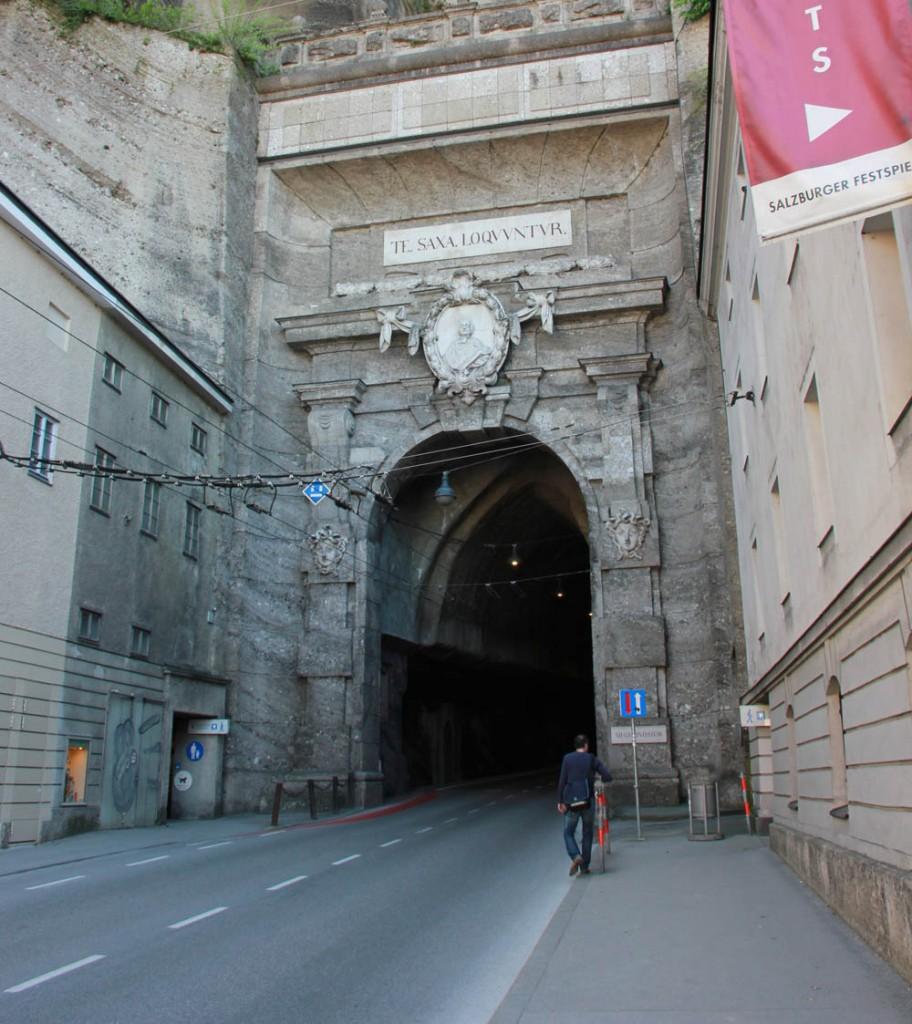 туннель в зальцбурге
