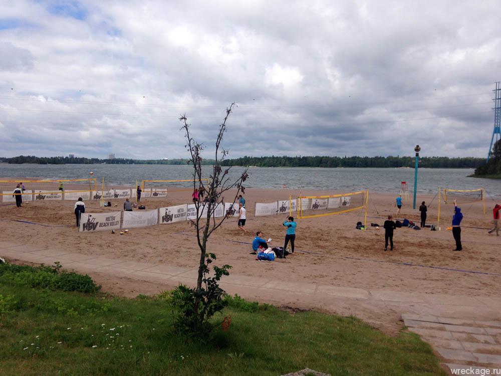 волейбол на пляже хельсинки