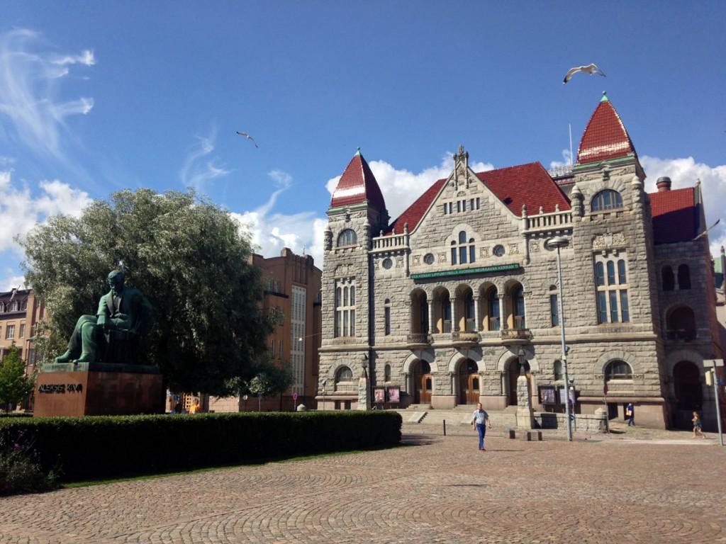 здание хельсинки