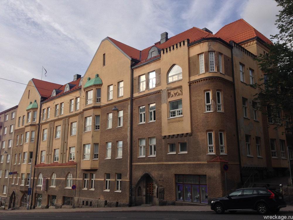 турку здания