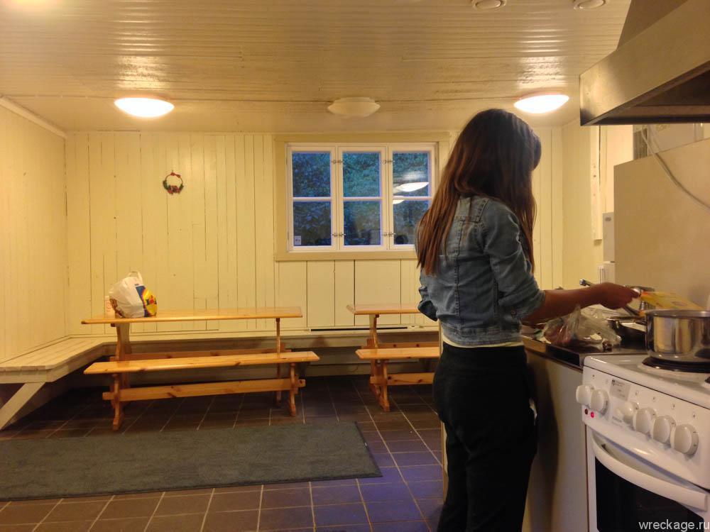 кухня кемпинг финляндия