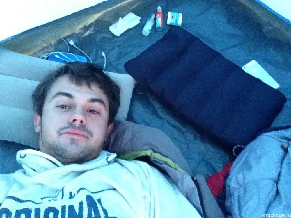 спим в кемпинге турку