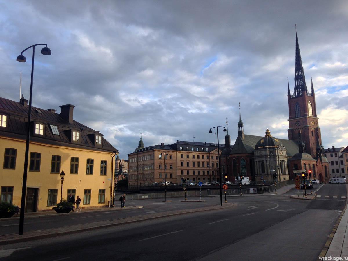 Гуляем по Стокгольму, смотрим достопримечательности Gamla-Stan