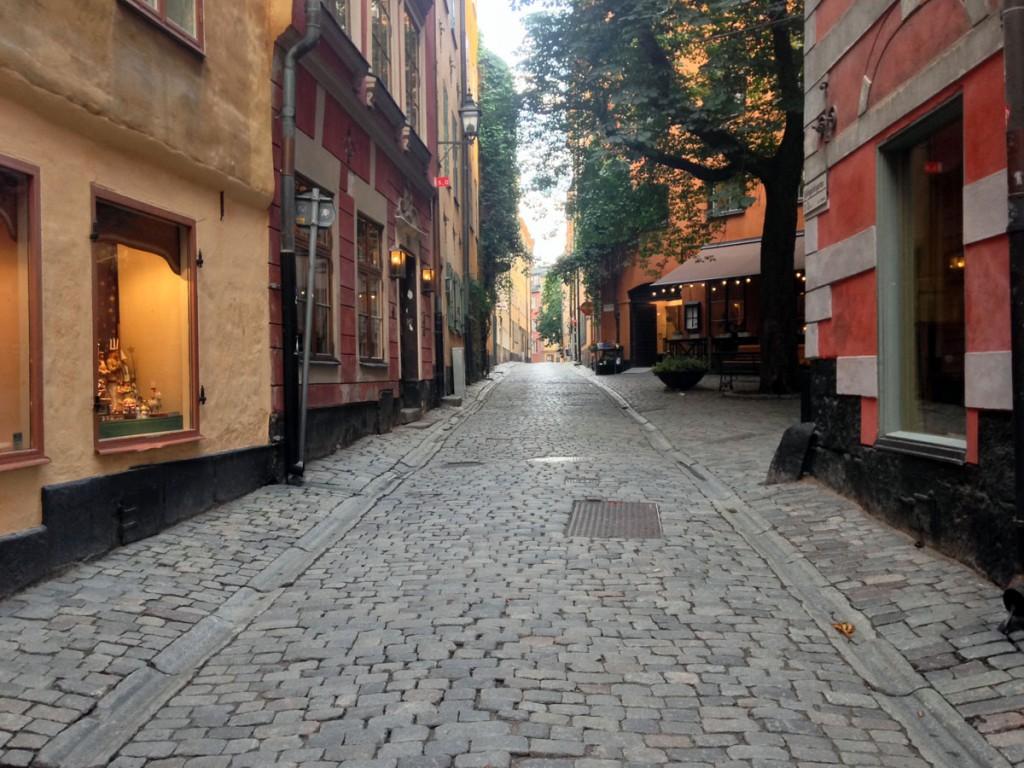 улочки Гамла Стан