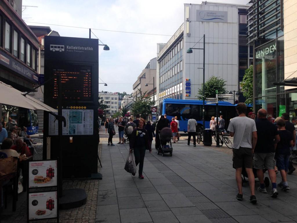 Кристиансанн пешеходная улица
