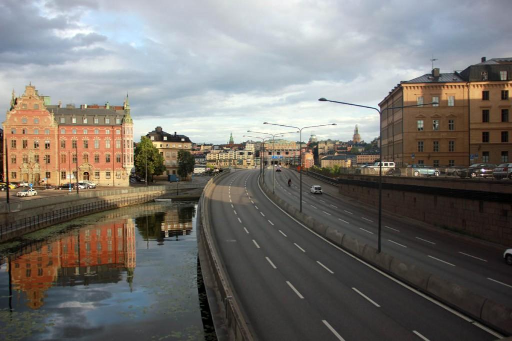 Стокгольм мост на остров Риддархольмен