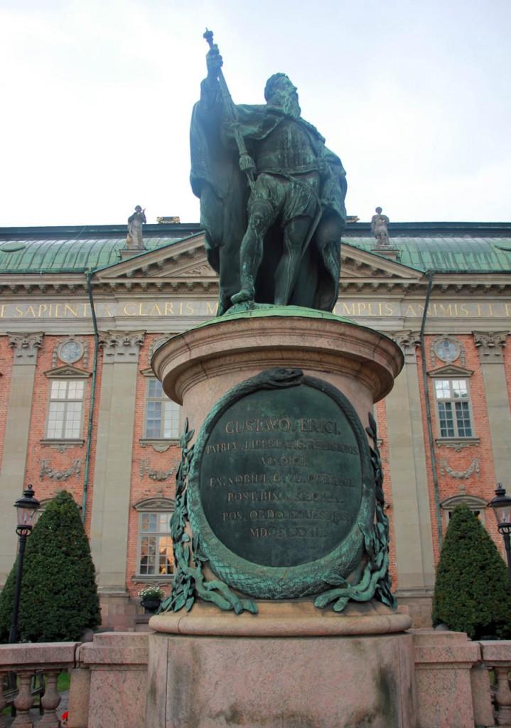 памятник густаву дворянское собрание стокгольм