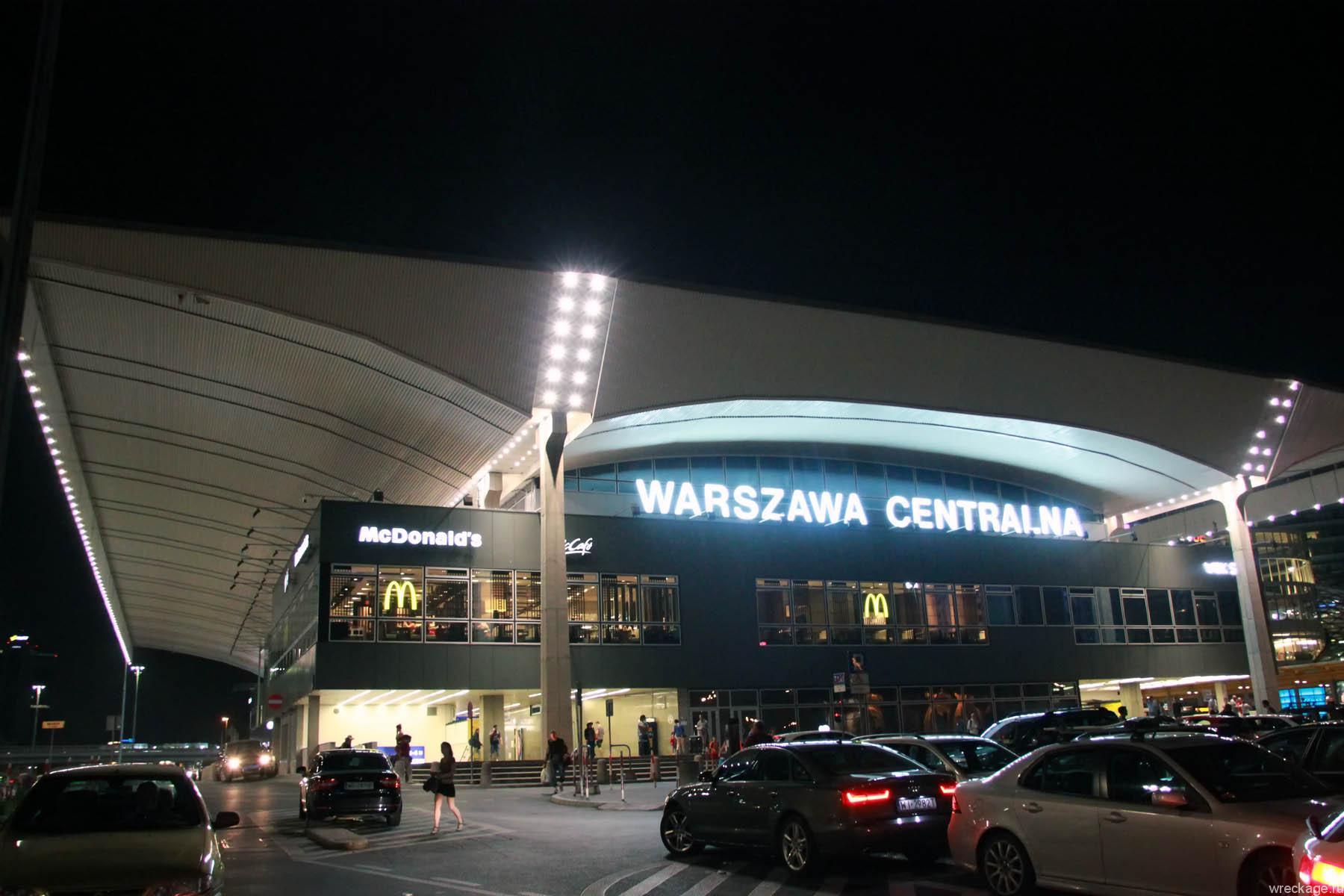 Домой через Польшу. Варшава, Белоруссия