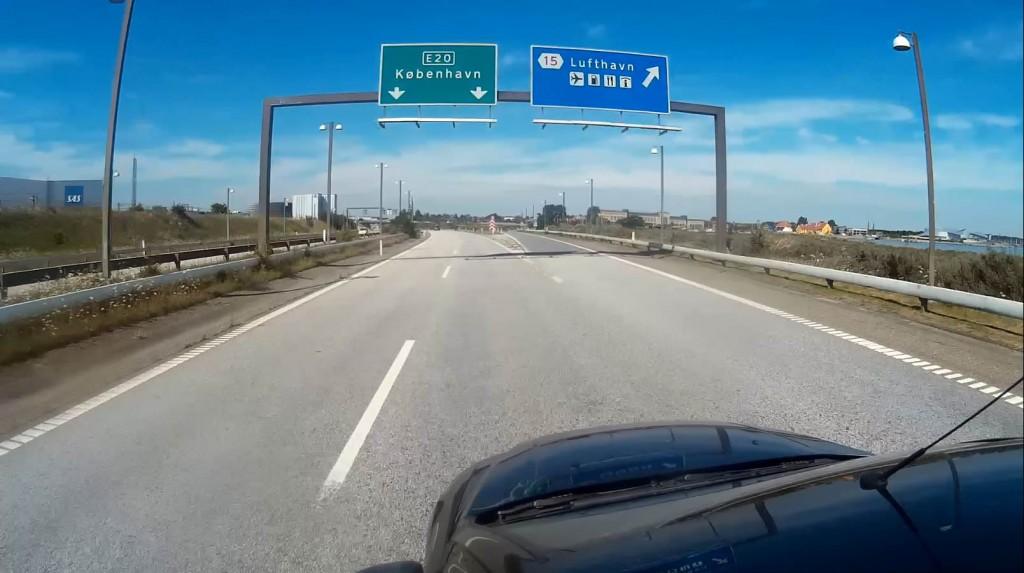 Дорога в Копенгаген из Швеции