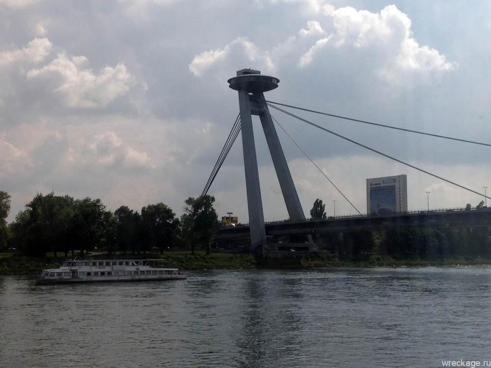 UFO НЛО в Братиславе