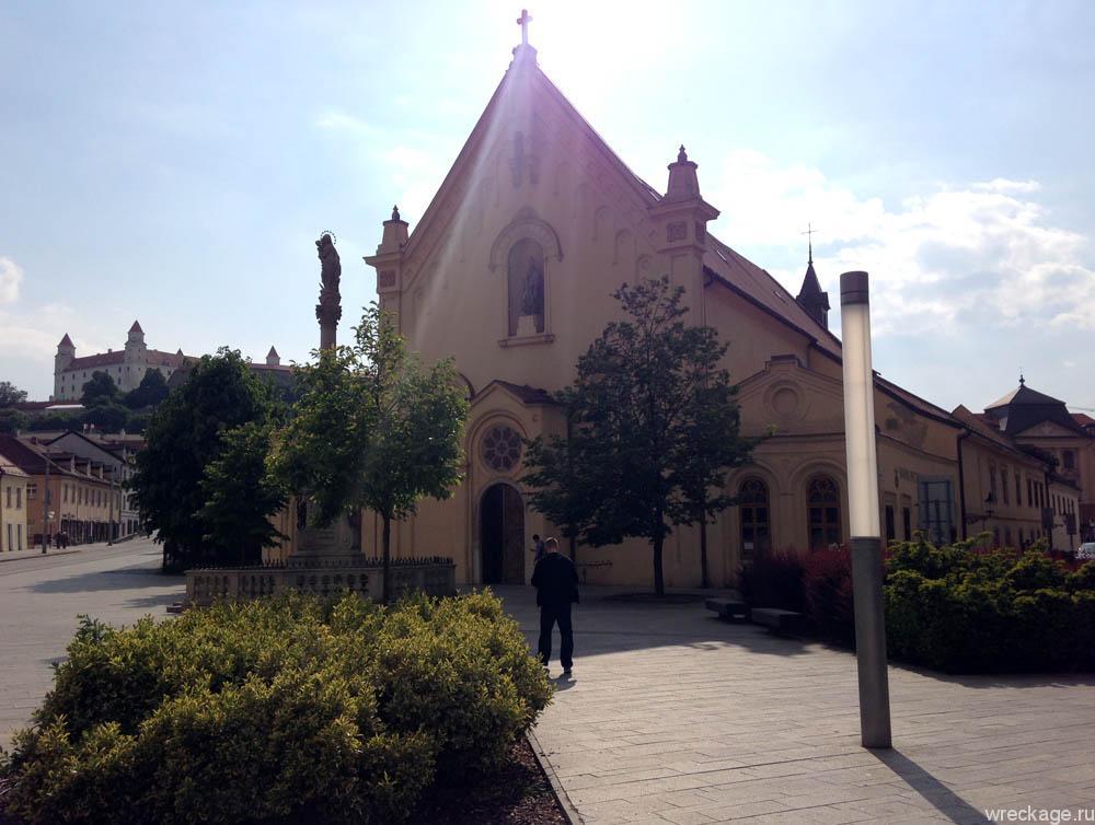 Церковь капуцинов св. Стефана