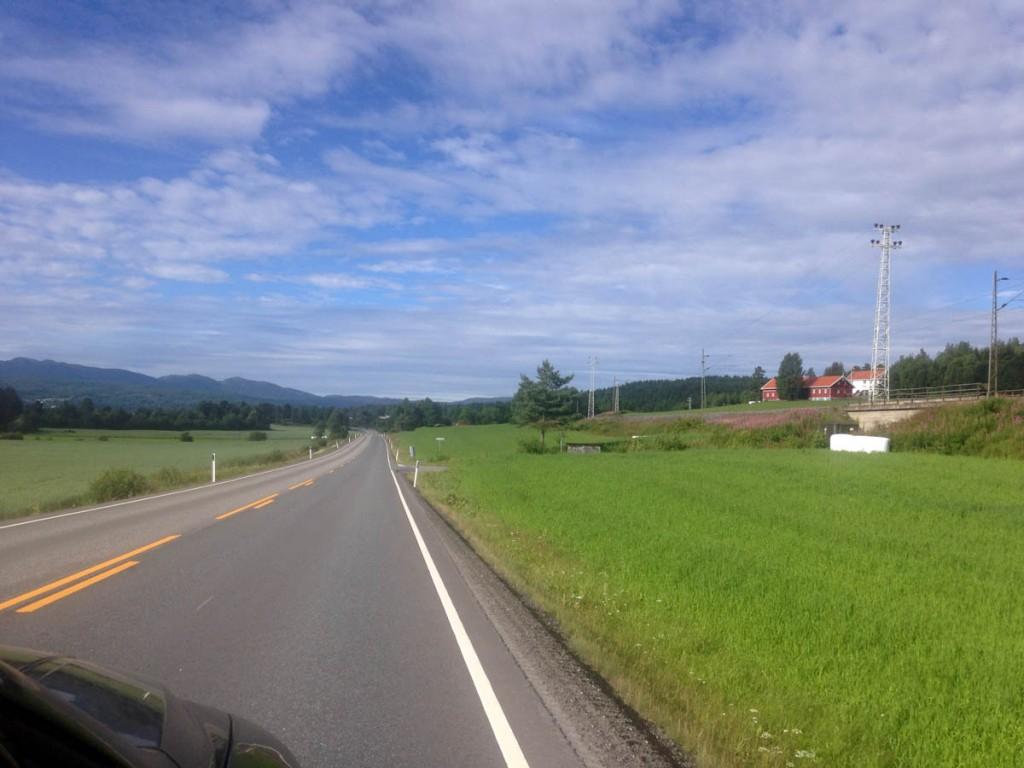 Норвегия юг