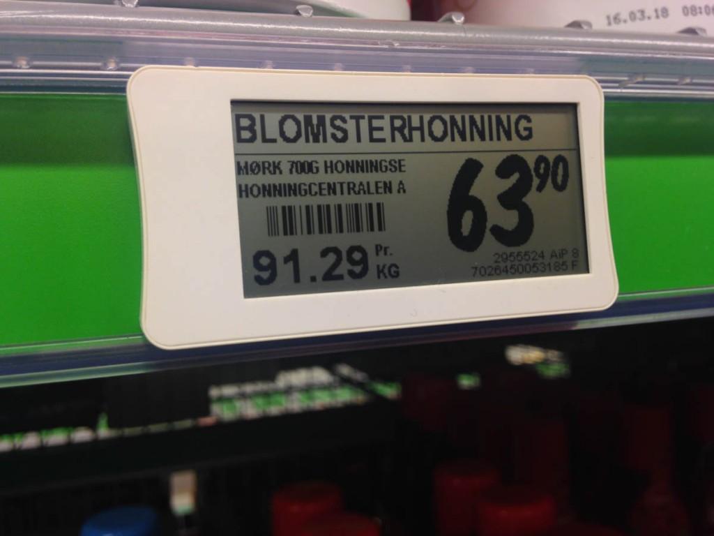 Электронные ценники в Норвегии