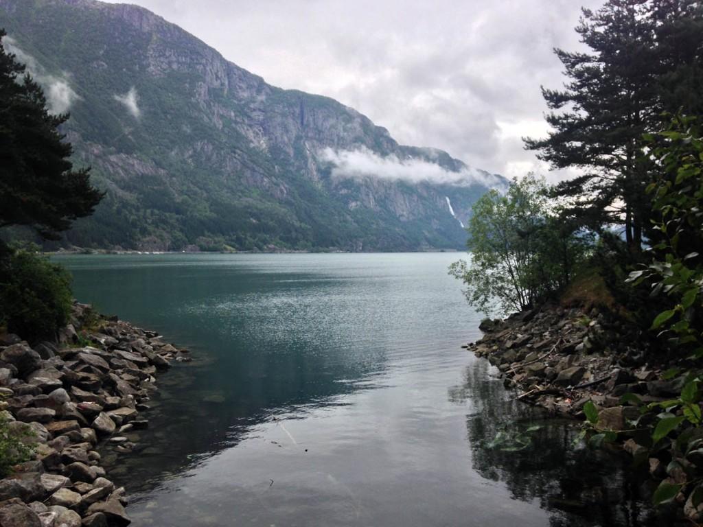 озеро кемпинга Одды