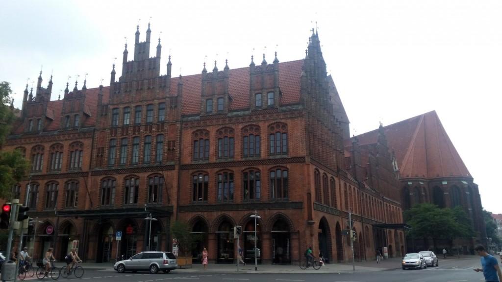 Altes Rathaus старая ратуша ганновер