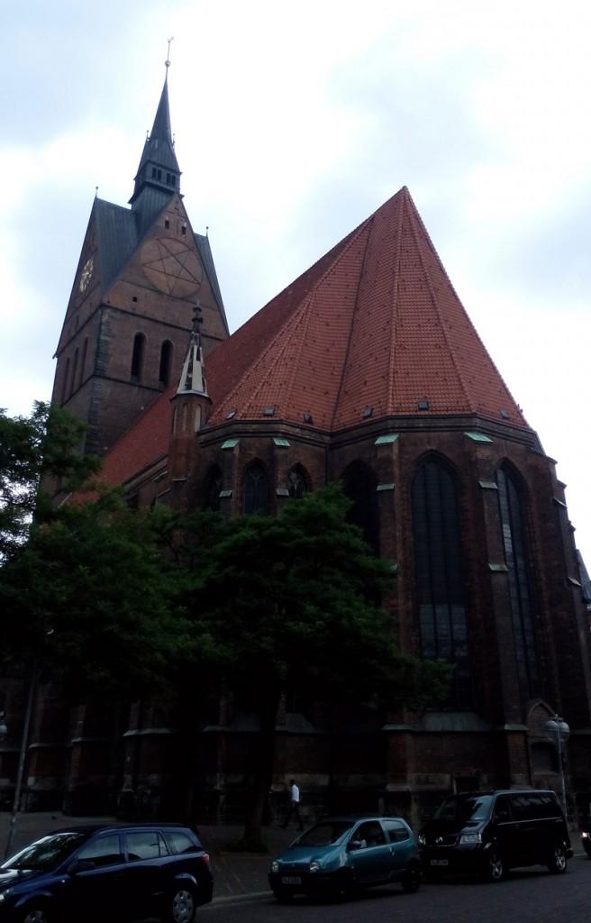 Рыночная церковь – главный лютеранский храм Ганновера
