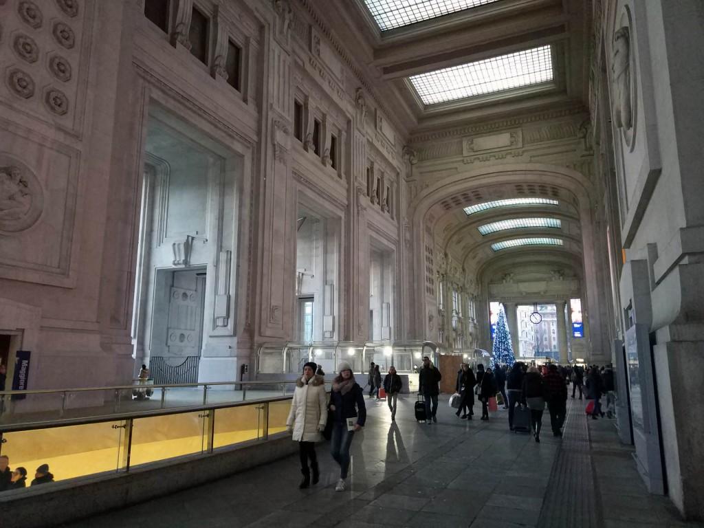 центральный вокзал Милан