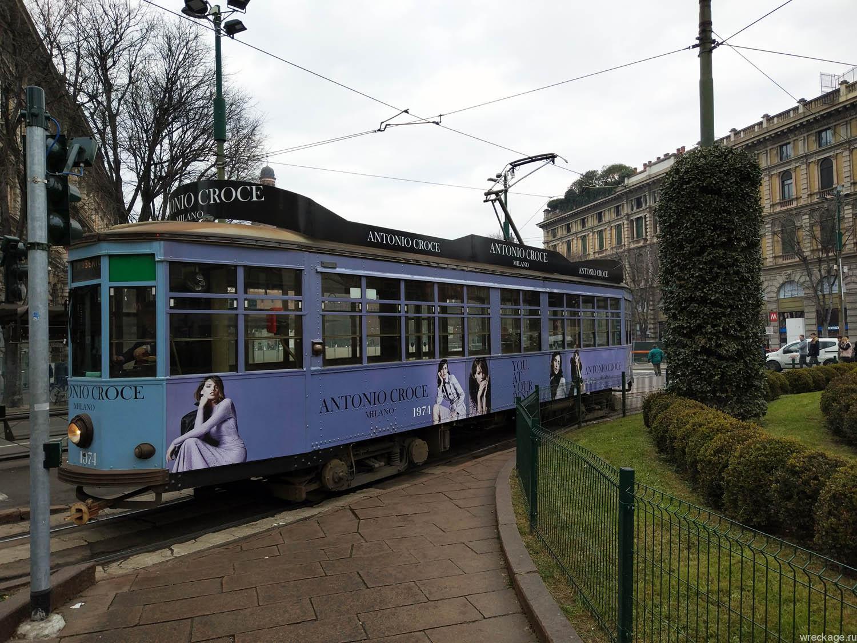 трамвай милан италия