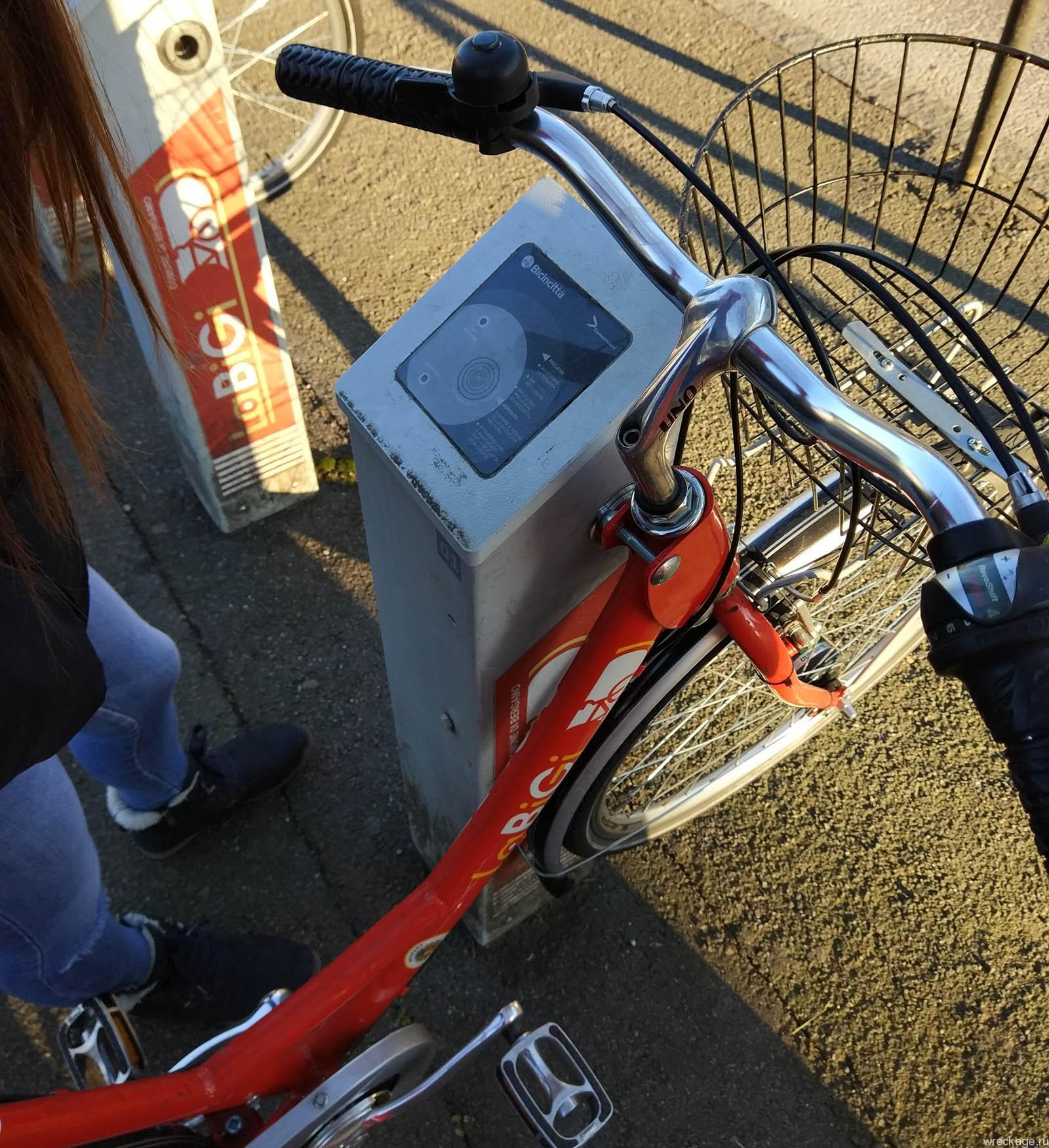 бергамо италия прокат велосипедов