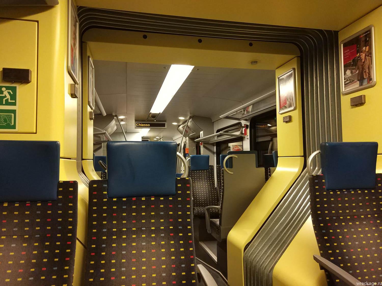 поезд комо - лугано