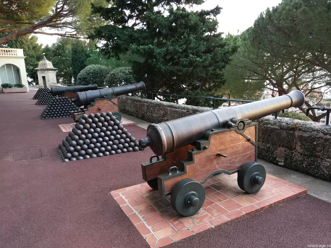 пушки монако