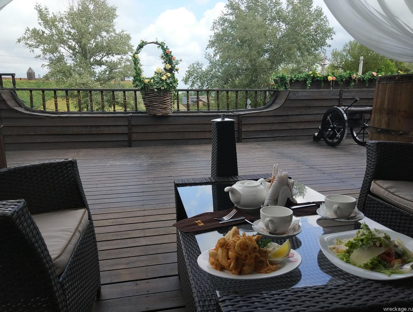 азовская крепость ресторан