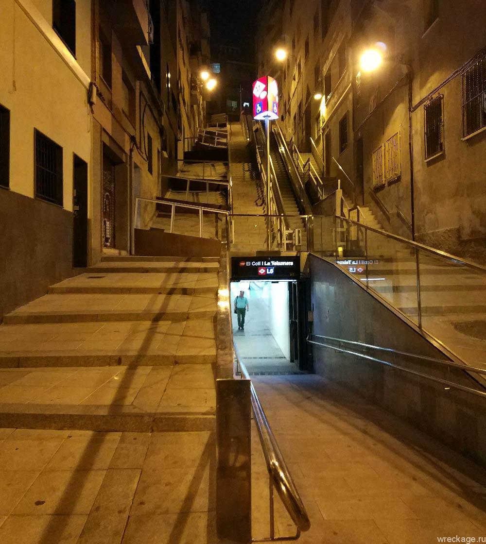испания эскалаторы