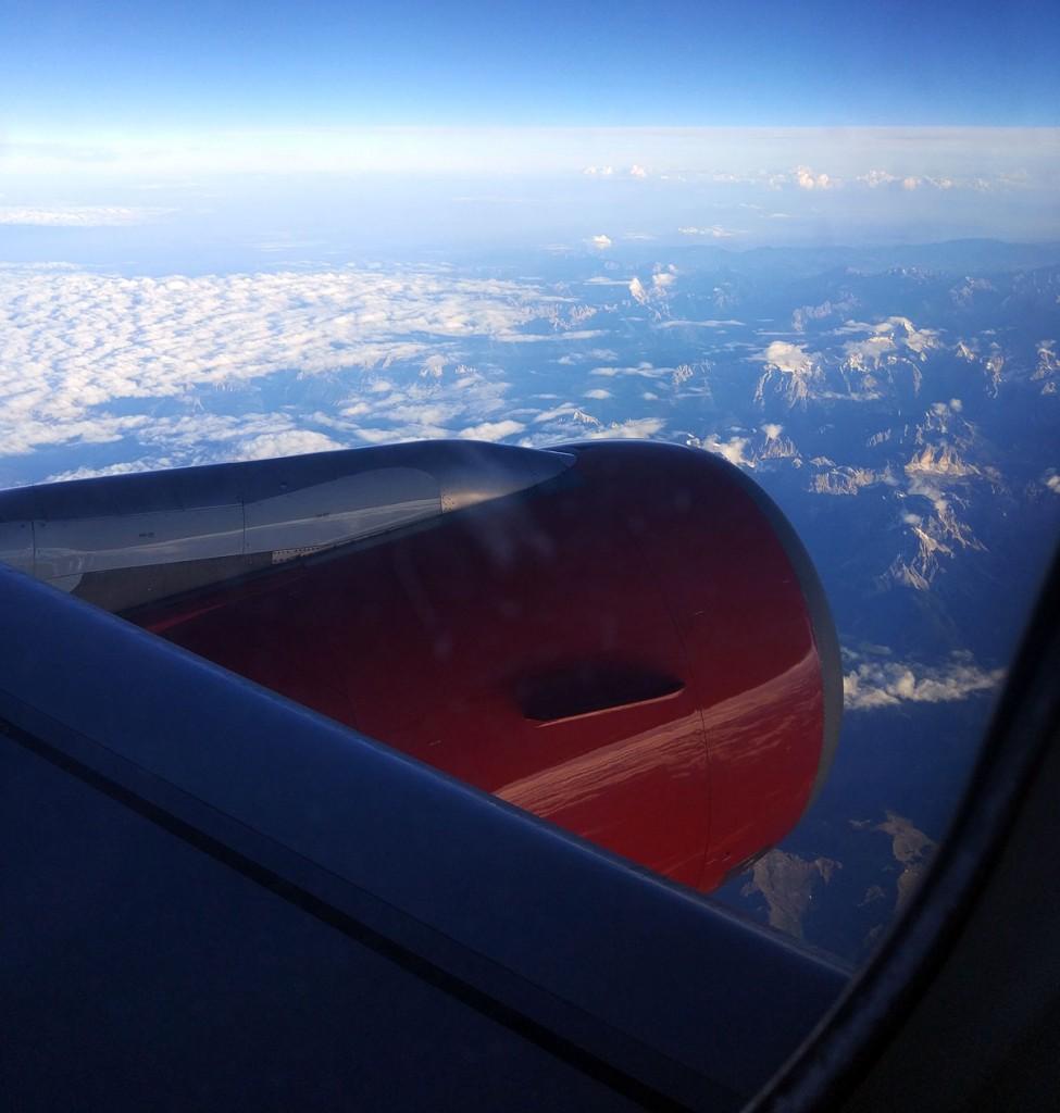 крыло самолёта испания