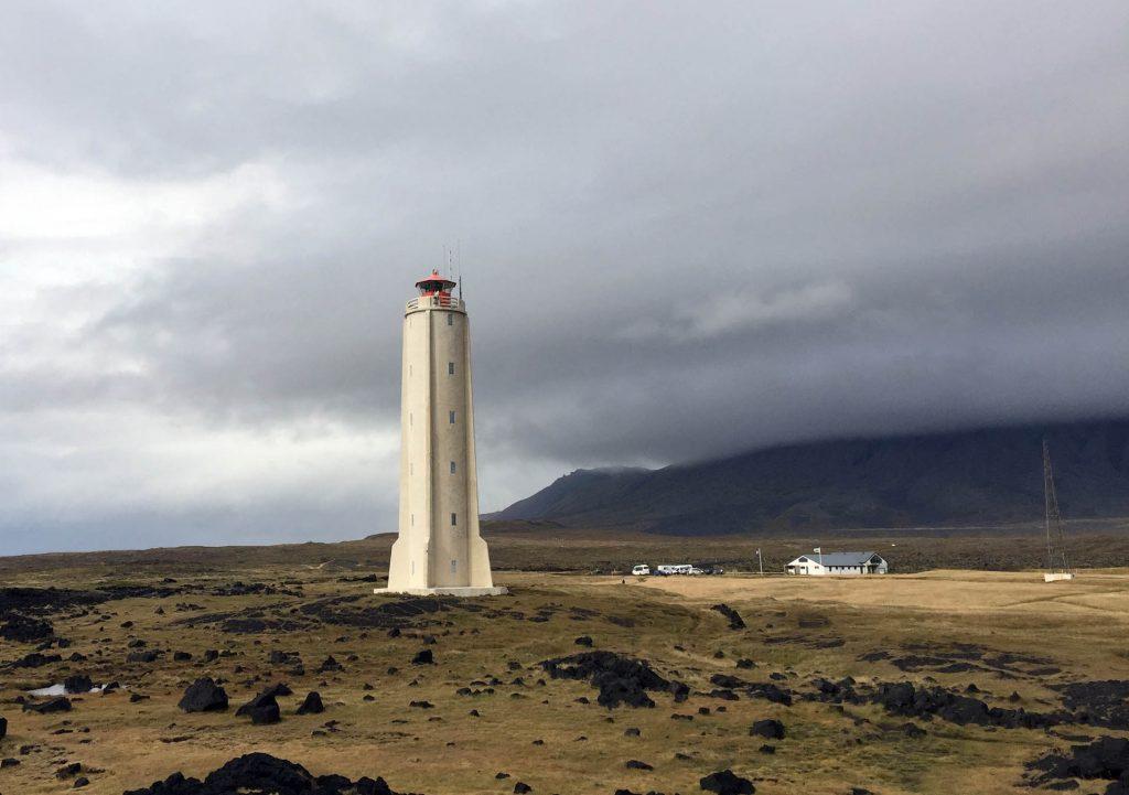 маяк белый музей бесплатный полуостров Снайфедльснес
