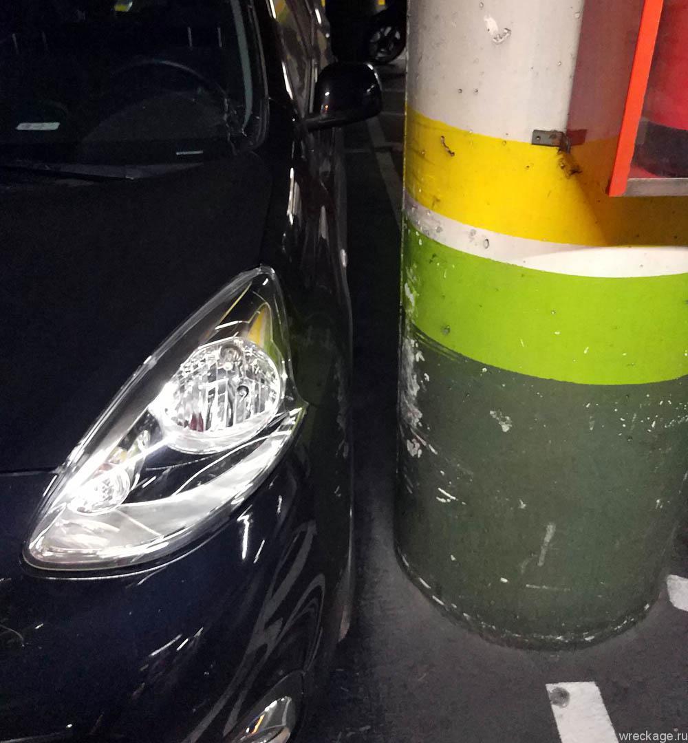 кадис трудности парковки