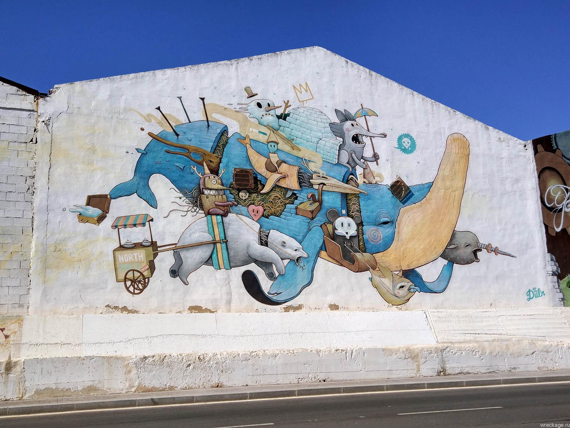 граффити испания малага