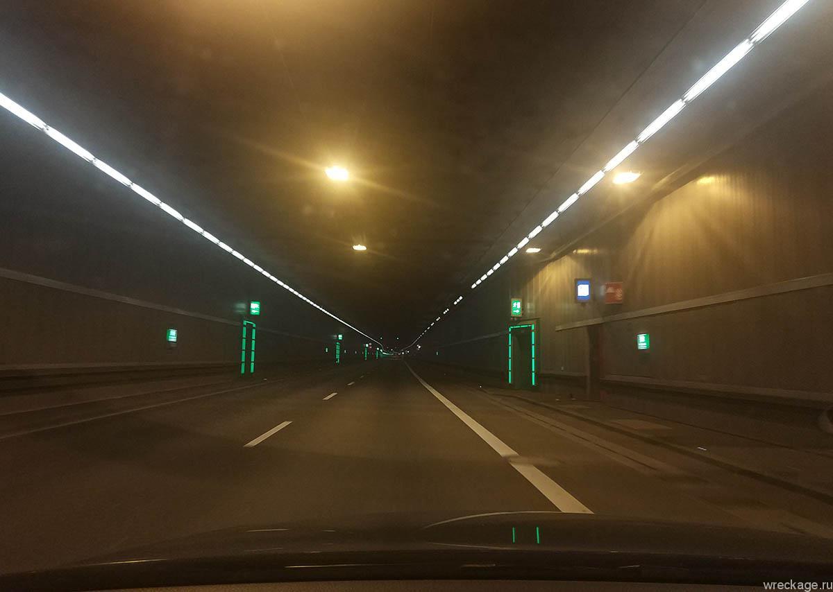 австрия платные туннели