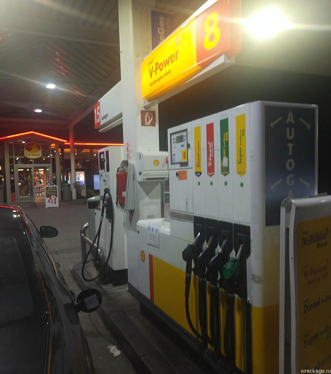 цены на бензин в австрии