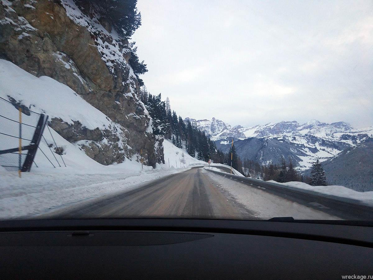 через австрию в альпы