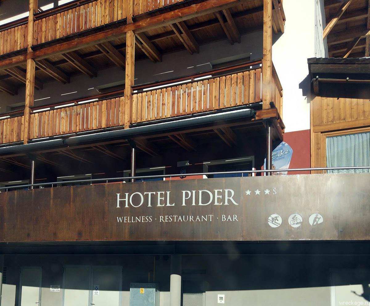 pider отель италия альпы