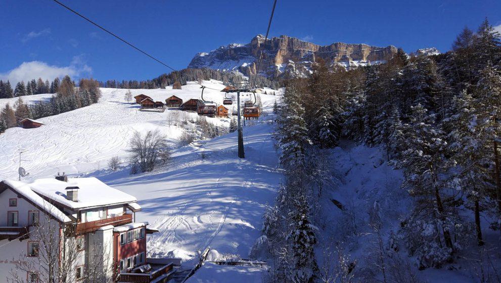 Доломитовые Альпы в Италии, где можно остановиться и покататься?