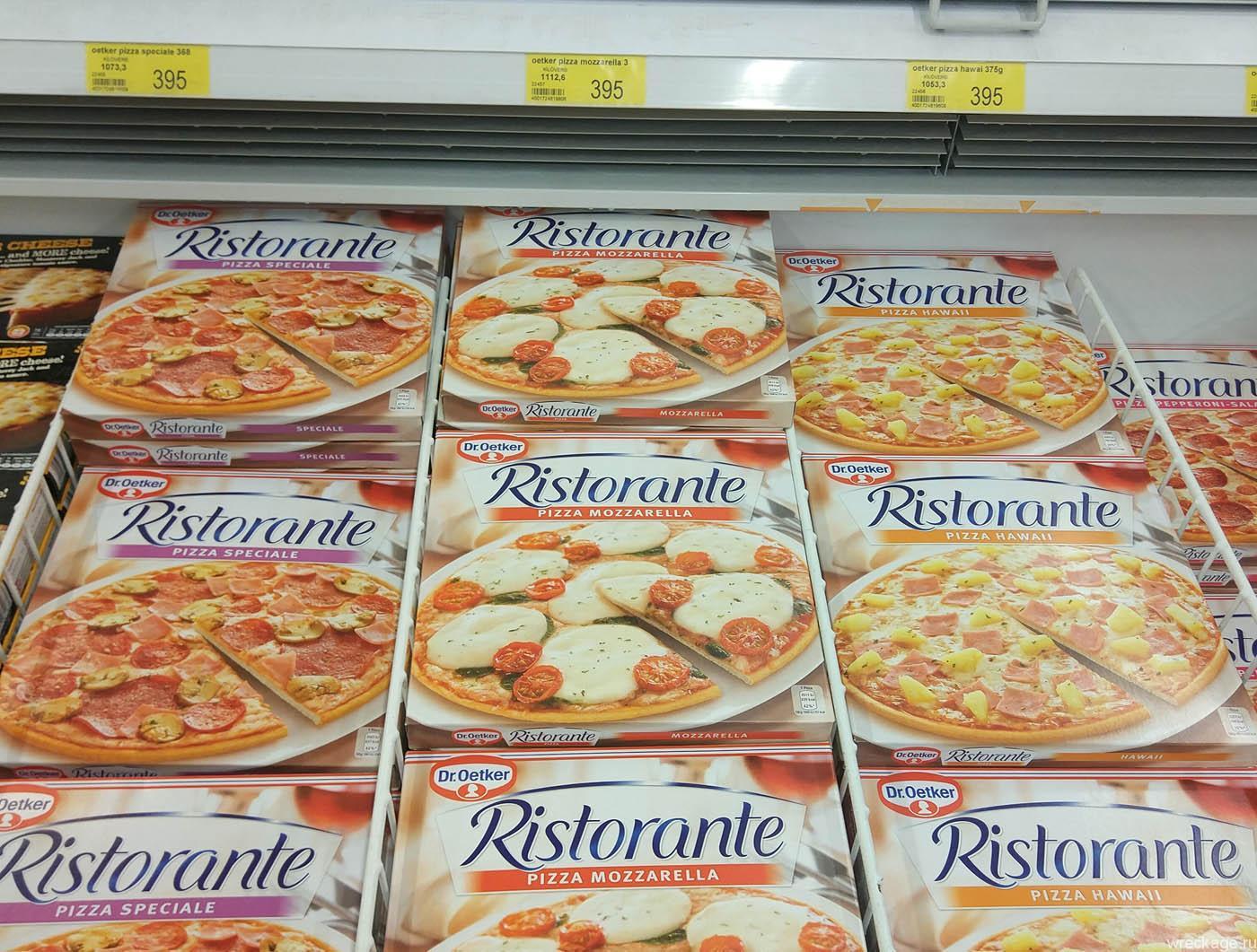 цены на пиццу в исландии