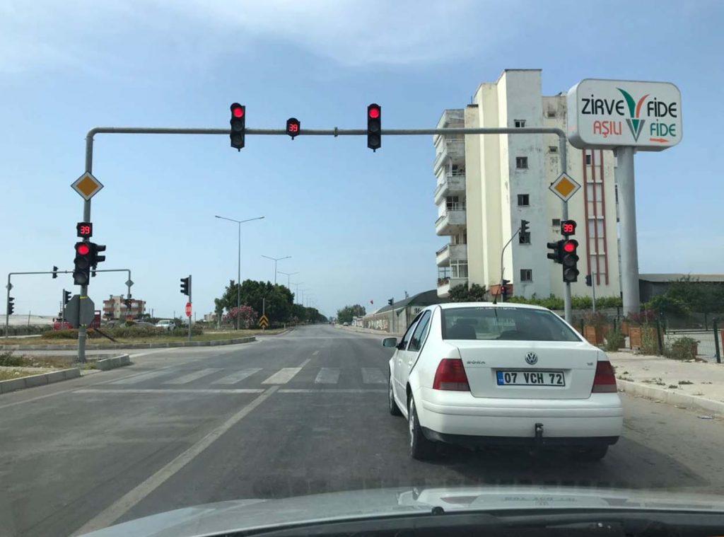 светофоры в турции