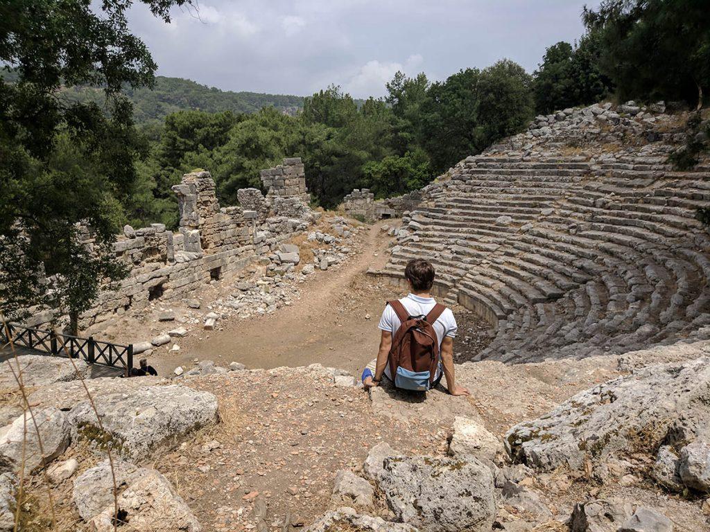 фаселис амфитеатр
