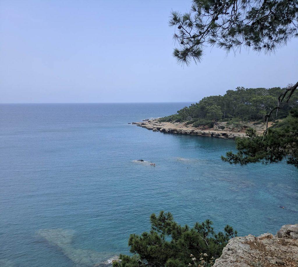 виды ликийской тропы у побережья